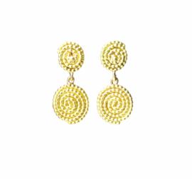 Keya oorjuwelen, 18kt geel goud