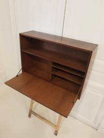 Vintage Mid Century modulair wandysteem schrijfdesk bureau