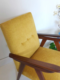Mid Century Louis van Teeffelen Wébé fauteuil, damesmodel