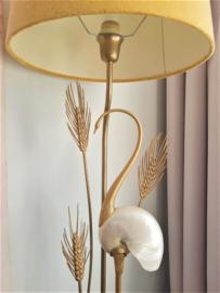Hollywood Regency lamp met kraanvogel, Antonio Pavia stijl