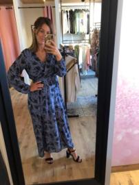 Maxi dress blauw TU