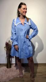 TU blauw popsyhemd