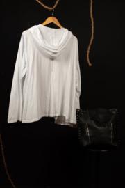 Moonshine kort jasje met capuchon wit 46-52