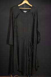 LaBass lange jurk in zwart 46-50