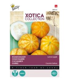Bijzondere groente: Xotica Komkommer Lemon Apple