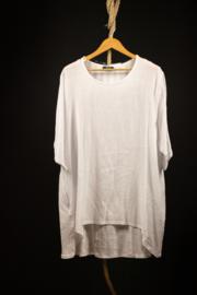 AKH ruim wit shirt 50-52