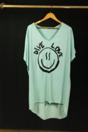 Strandshirt in mint 40-44