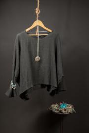 AKH kort zwart shirtje 46-56