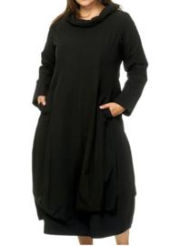 Kekoo jurk in zwart 54-56