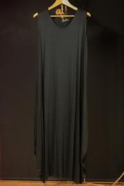 Naveed lange zwarte jurk 46-50