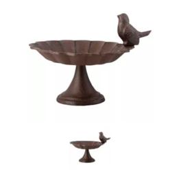 Kleine Esschert Design Vogelbad/drinkschaal op voet