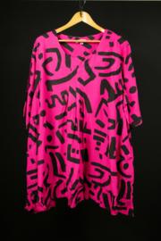 LaBass shirt roze mt 1 en 3