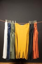 Moonshine shirtje mouwloos  in 4 kleuren 44-50