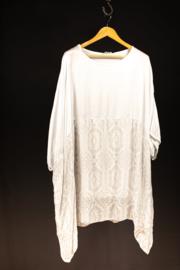 Moonshine wit  tuniek met print 50-54