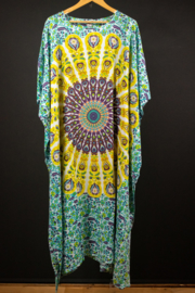 Luna Serena Kaftan in turquoise 50-62