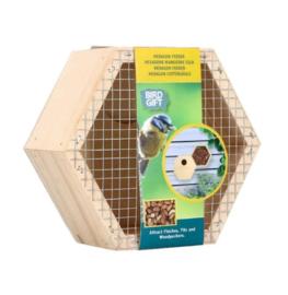 Hexagon pinda feeder