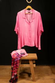 Kekoo bloesje in roze 54-56