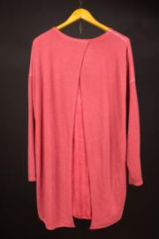 LaBass zonnebloem shirt in rood 48-52