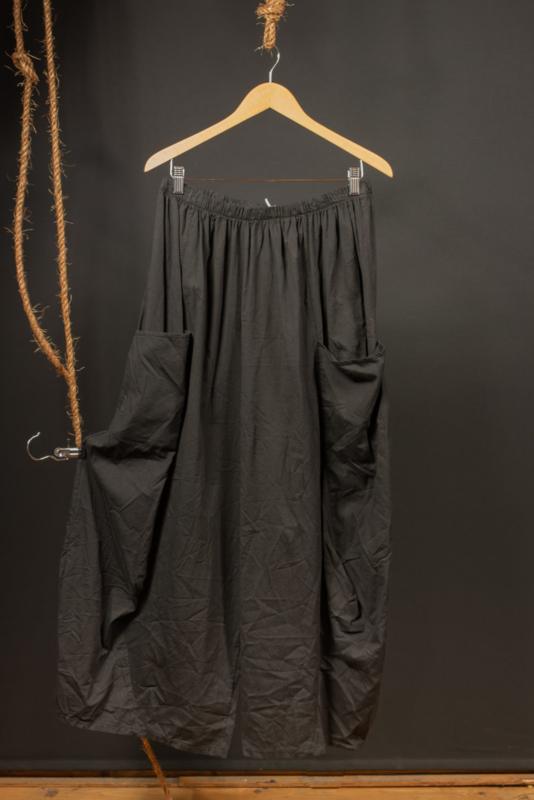 Moonshine zwarte broek met grote zakken 50-54