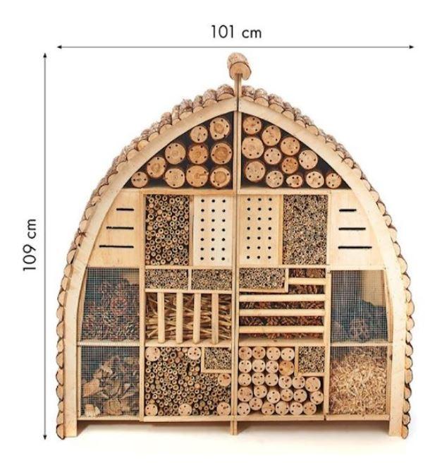 XXXL Insectenhotel (Leverbaar vanaf half juni)