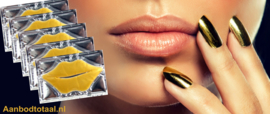 Luxury Gold collageen lipmaskers