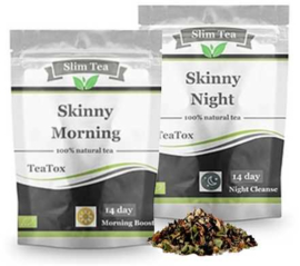 Teatox-kuur- Skinny morning + Skinny evening