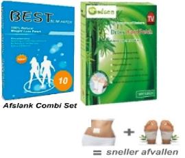 Combi deal - Detox en Afslank Pads