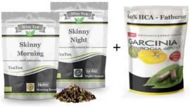 Teatox + HCA fatburn maandplan