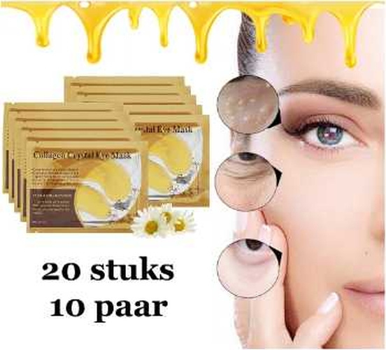 24K Goud collageen oogmasker