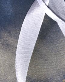 Lint van 100% echte zijde 10 mm breed, per meter :