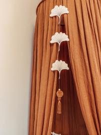 Wooden Decoration Ginkgo