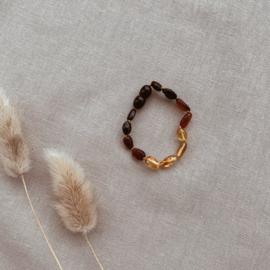 Barnsteen Armband Regenboog