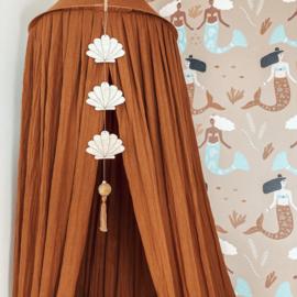Wooden Decoration Seashell
