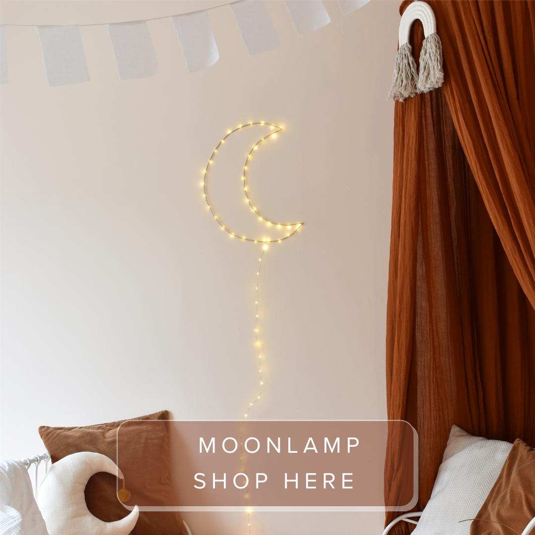 Handgemaakte maanlamp