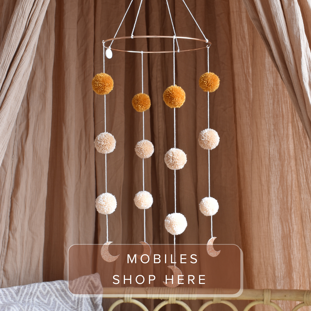 Mobiel, Pompom Mobile Moonshine, Cotton Design
