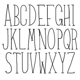 Muurstickers | Alfabet