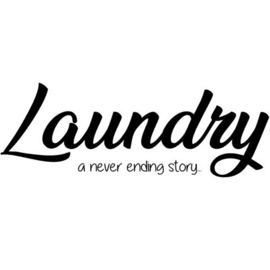 Muursticker | Laundry