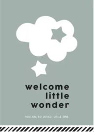 Kaartje | Welcome little wonder