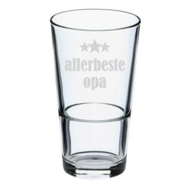 Bierglas allerbeste PAPA of OPA