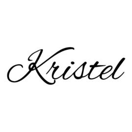 Naamsticker Kristel