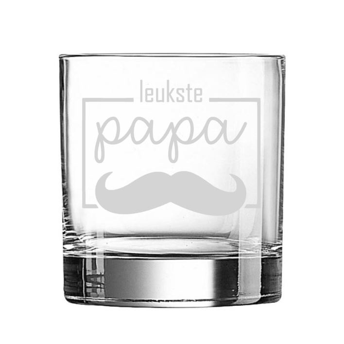 Whiskeyglas leukste papa
