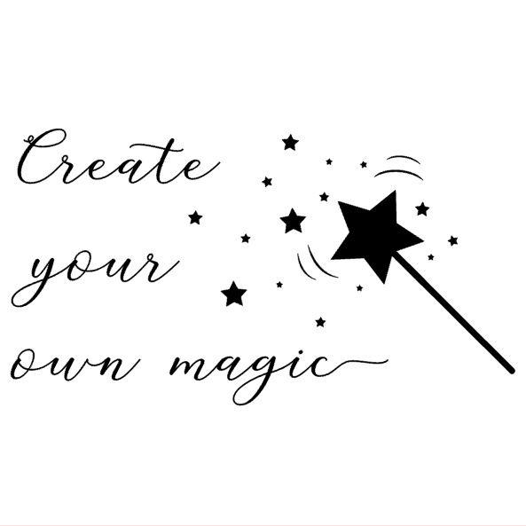 Muursticker | Create your own magic