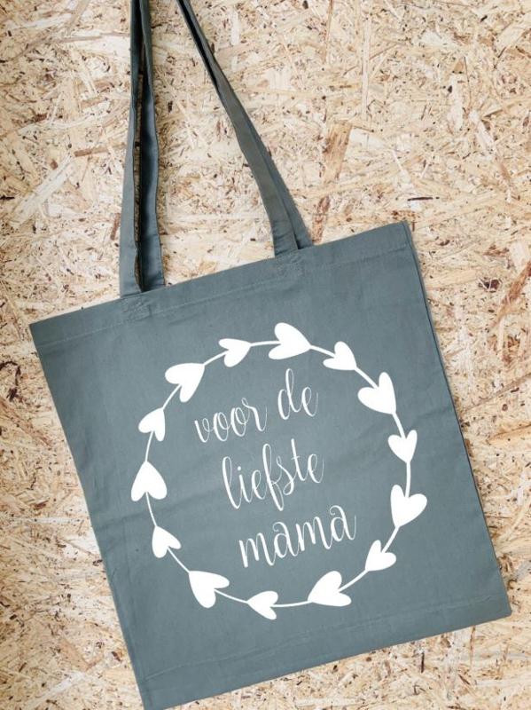 Tas voor de liefste mama | Olijfgroen