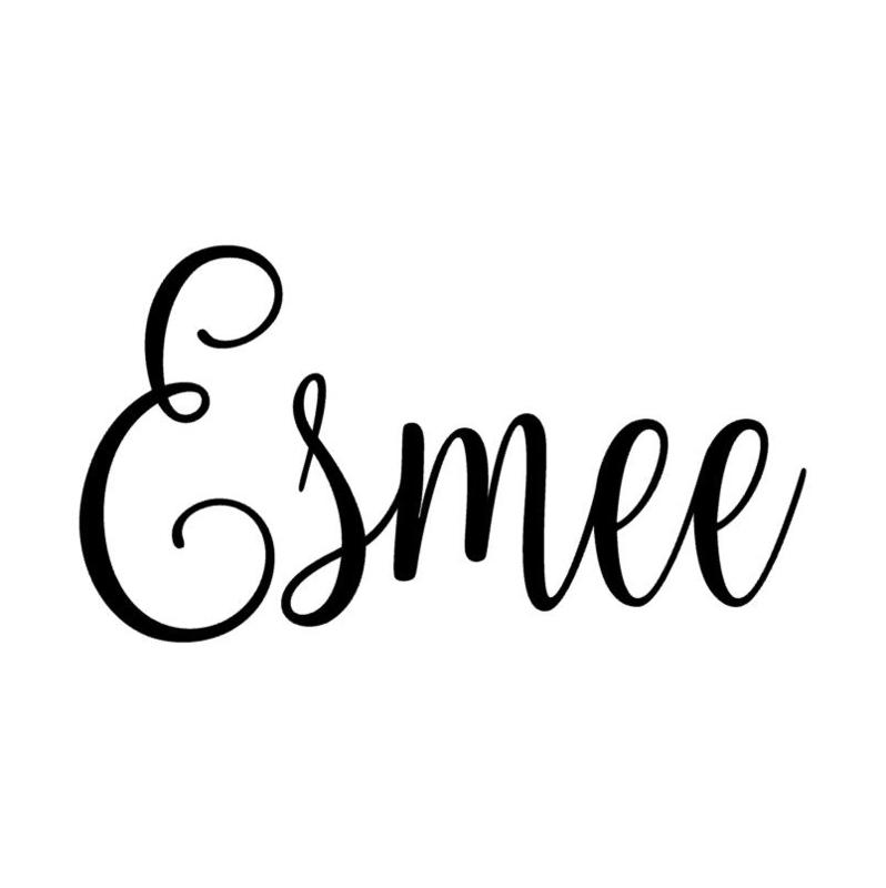 Naamsticker Esmee