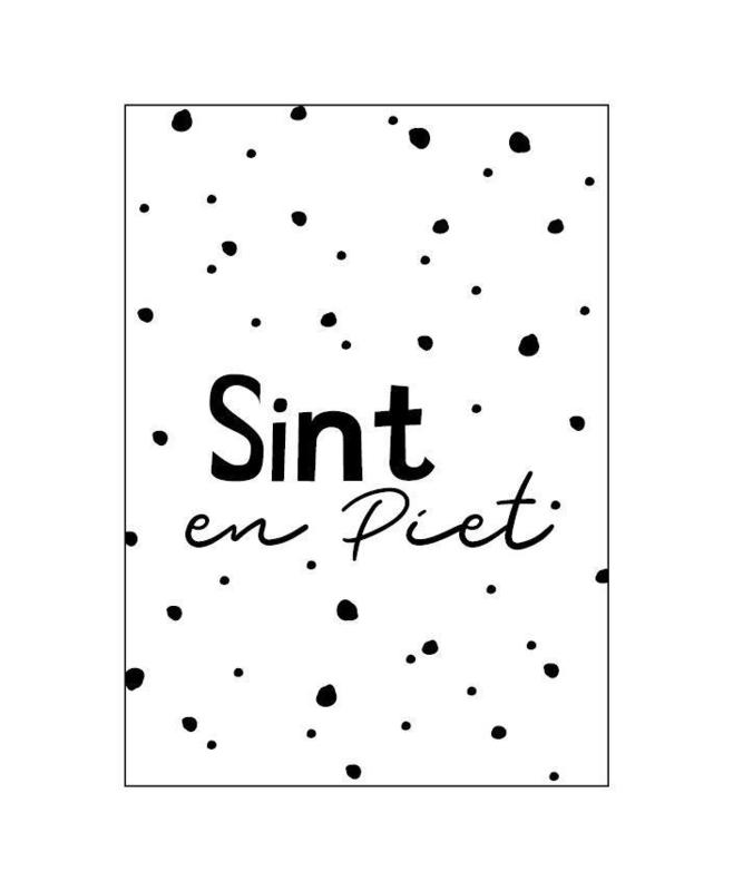 Kaartje | Sint & Piet