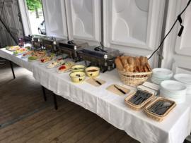 Warm en koud buffet compleet