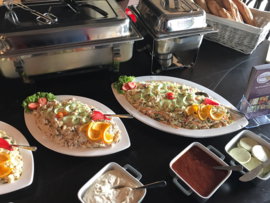 Warm en koud buffet basic