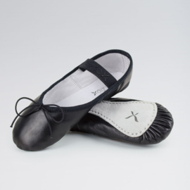 Ballet shoe Black Leather
