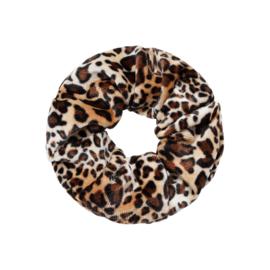 Scrunchie animal bruin