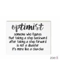 Kaart Optimist